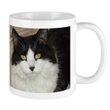 Black and White Cat Mug