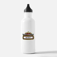 World's Greatest Actor Water Bottle