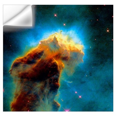 Gas pillars in the Eagle Nebula Wall Decal