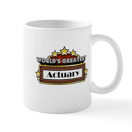 World's Greatest Actuary Mug