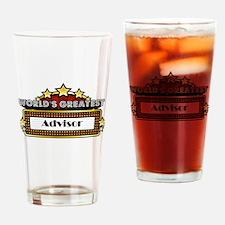 World's Greatest Advisor Drinking Glass