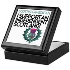 Support Keepsake Box