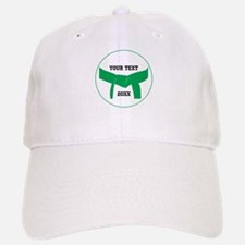 Custom Martial Arts Green Belt Baseball Baseball Cap