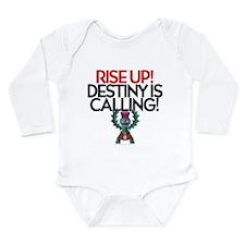 Destiny Long Sleeve Infant Bodysuit