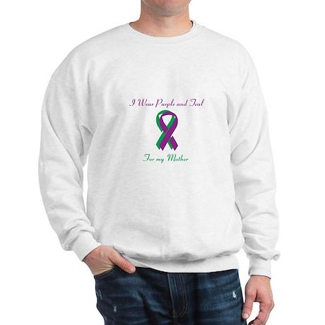 Purple and Teal Mother Sweatshirt