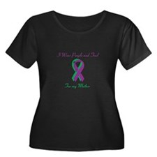 Purple and Teal Mother T