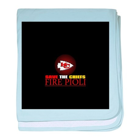Save the Chiefs - Fire Pioli baby blanket