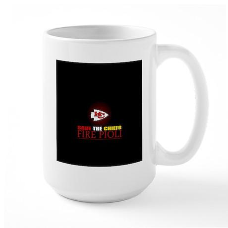 Save the Chiefs - Fire Pioli Large Mug