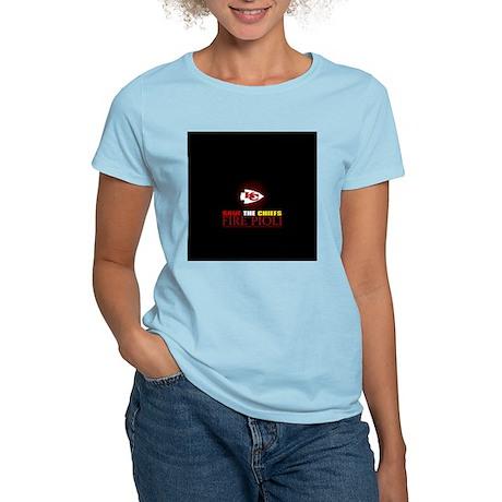 Save the Chiefs - Fire Pioli Women's Light T-Shirt