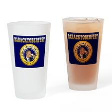 Oktoberfest Is Baracktoberfest Drinking Glass