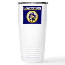 Oktoberfest Is Baracktoberfest Travel Mug