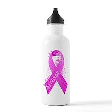 Breast Cancer Survivor Water Bottle