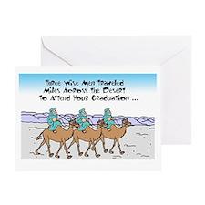 Cool Three kings christmas Greeting Card