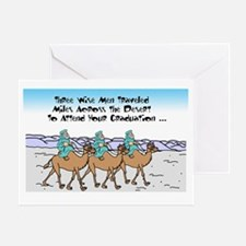 Funny Three wise men Greeting Card