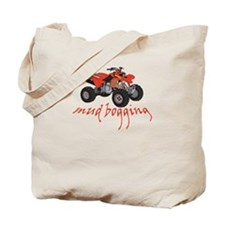Mud Bogging ATV Tote Bag