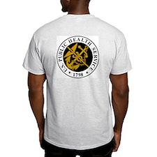 USPHS Commander <BR>Grey T-Shirt