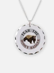 Honey Badger Fear Necklace