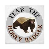 Honey badger Luxe Full/Queen Duvet Cover