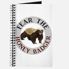 Honey Badger Fear Journal