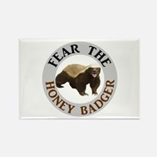 Honey Badger Fear Rectangle Magnet (100 pack)