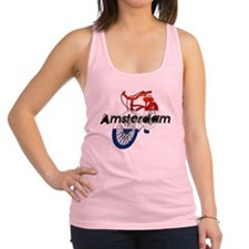 Amsterdam Bicycle Racerback Tank Top