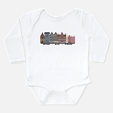 Amsterdam Holland Long Sleeve Infant Bodysuit