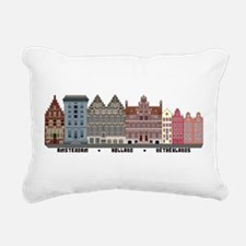 Amsterdam Holland Rectangular Canvas Pillow