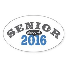 Senior Class of 2016 Decal