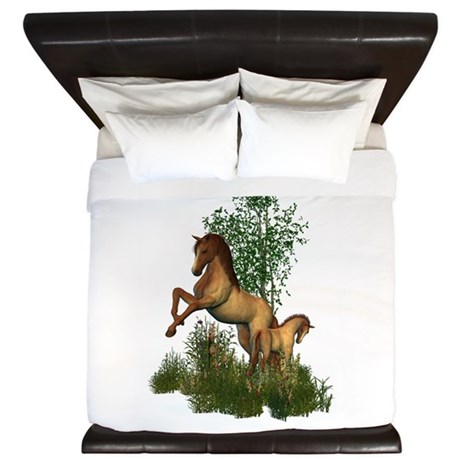 Mare Foal King Duvet