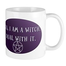 Yes, I am a Witch. Deal with it. Mug