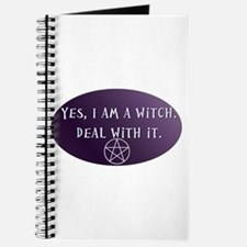Yes, I am a Witch. Deal with it. Journal