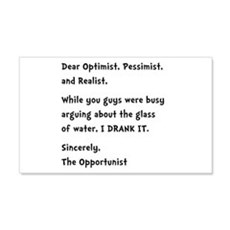 Opportunist Wall Decal