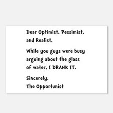 Opportunist Postcards (Package of 8)