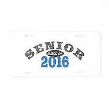 Senior Class of 2016 Aluminum License Plate