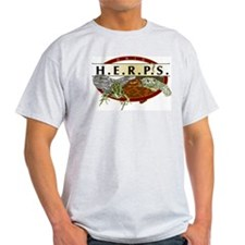 Ohio HERPS Ash Grey T-Shirt