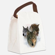wolves.png Canvas Lunch Bag