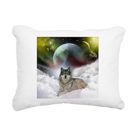 fantasy wolf.jpg Rectangular Canvas Pillow