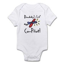 Daddy's lil' Co-Pilot Infant Creeper