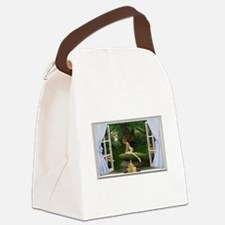 Fairy World Pink.png Canvas Lunch Bag