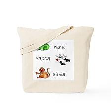 Minimus Latin animals Tote Bag