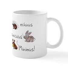 Minimus Latin animals Small Mug