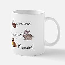 Minimus Latin animals Small Mugs