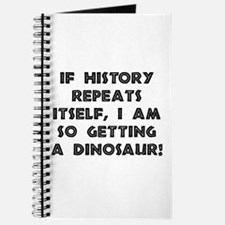 History Repeats Dinosaur Journal