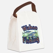 bass fishing.png Canvas Lunch Bag