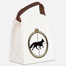 Fox Hunt Canvas Lunch Bag