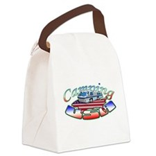 Camping Rv.png Canvas Lunch Bag