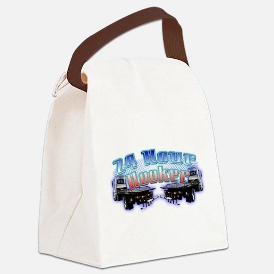 3-24hourhooker.png Canvas Lunch Bag