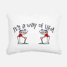 Golf.png Rectangular Canvas Pillow