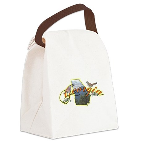 georgia.png Canvas Lunch Bag