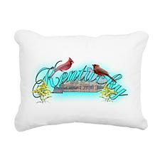 Kentucky.png Rectangular Canvas Pillow